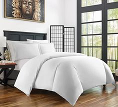 Buy Zen Bamboo Ultra Soft 3-Piece BambooFull/QueenDuvet Cover Set -Hypoallergenic and Wrinkle Resistant, White - Reviewhomkit.com ✓ FREE DELIVERY possible on eligible purchases