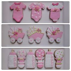 Girl Baby Shower Cookies | Flickr - Photo Sharing!