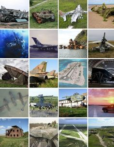 20 abandoned military bases aircraft graveyards vehicles1 20 Spectacular Military Abandonments of the World