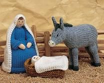 Amigurumi Nativity Free Download : Christmas in july u knit and crochet nativity sets u free patterns