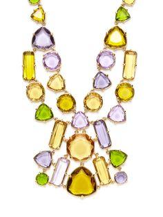 Desert Stone Bib Necklace