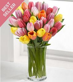 FTD Flowers Mixed Tulip Spring Bouque... $49.99
