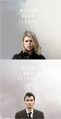 I would stayed with You forever! Rose and Ten