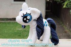 Rarity crochet PDFpattern pattern on Craftsy.com