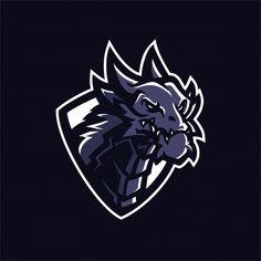 dragon-esport-gaming-mascot-logo-templates on Behance Team Logo Design, Logo Desing, Mascot Design, Graphic Design Services, Logo Esport, Logo Branding, Logo Dragon, Adobe Illustrator, Esports Logo