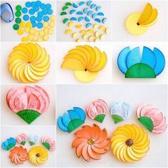 Here is a fun DIY project to make paper circle flowers. It's amazing that with simple paper circles, you can create such surprisingly beautiful and unique flowers. They are very easy to make.You can work with your kids on them.…