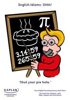 English Idioms: Pie Hole
