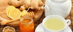 Ginger Root Tea for Liver Health Ginger Lemon Honey Tea, Ginger Root Tea, Ginger Drink, Ayurveda, Cold Home Remedies, Cough Remedies, Natural Remedies, Health Drinks Recipes, Healthy Recipes