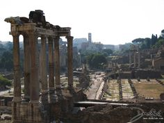 Roman Forum background shot
