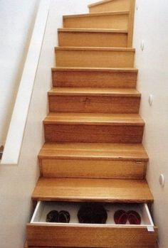 If I had stairs what a must for storage
