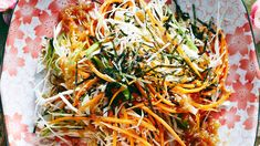 Cabbage salad with wafu dressing recipe : SBS Food