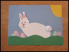 Handprint Craft Ideas   HANDPRINTS EASTER BUNNY CRAFT IDEAS FOR KIDS: Easter Arts & Crafts ...