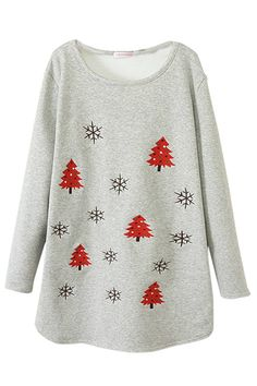 Product Name:Gray Womens Christmas Trees Printed Lined Jumper SweatshirtGross Weight/Package:520Shoulder(cm):S-41cm M-43cm L-45cmBust(cm):S-102cm M-104cm L-106cmLength(cm):S-80cm M-82cm L-84cmColor:GrayFabric:BlendingStyle:CasualSeason:WinterOccassion:Daily WearPackage:A Sweater