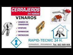 Cerrajeros Vinarós 603 909 909 economicos
