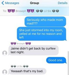 17 Incredibly Real Texts All Siblings Have Probably Sent