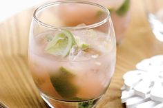 Sunset pink with a rum kick, this refreshing drink will put your friends in a holiday mood.