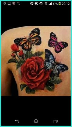 Butterfly Tattoos - The Struggle to Achieve >>> Read more info by clicking the link on the image. #ButterflyTattoos