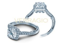 INSIGNIA-7056 engagement ring from The Insignia Collection of diamond engagement rings by Verragio