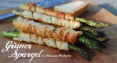 Grüner Spargel vom Grill in Parmesan-Blätterteig - Living BBQ