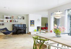 A terraced house Terraced House, Corner Desk, Indoor, Inspiration, Furniture, Home Decor, Biblical Inspiration, Homemade Home Decor, Interior