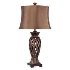 (CLICK IMAGE TWICE FOR UPDATED PRICING AND INFO) #home #homeimprovement #homedecor #lighting #lamps #lights #lightandfixture #tablelamps   see more table lamps at http://www.zbrands.com/Lamps-C40.aspx - Minka Ambience Lamps - 31 One Light Table Lamp in Copper