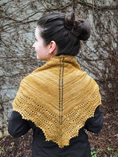 Holden Shawl by Oriana Laura