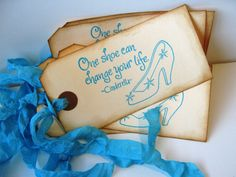 bridal shower tag / artwork