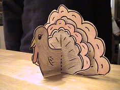 Simple and quick turkey craft.