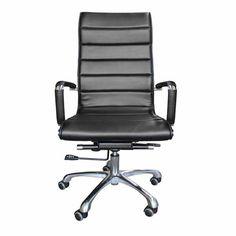 เก้าอี้สำนักงาน Super Soft-A (ทรงสูง/หลังม้วน) ■ ขนาด : กว้าง 57 x ลึก 54 x สูง 105 เซนติเมตร ■ สี : ดำ / น้ำตาล ■ Main Material : หนัง PU ■ โครงเก้าอี้ : โครงเหล็กชุบโครเมี่ยม ■ แขนเก้าอี้ : แขนเก้าอี้เหล็กชุบโครเมี่ยมหุ้มด้วยหนัง ■ ก้อนโยก : ปรับเอนนอนได้ ■ โช๊ค : ปรับ สูง-ต่ำ ได้ ■ ขาเก้าอี้และลูกล้อ : ขาเก้าอี้อลูมิเนียมพร้อมลูกล้อ