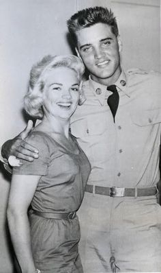 May 17, 1958 Anita Wood and Elvis in Waco, Texas -