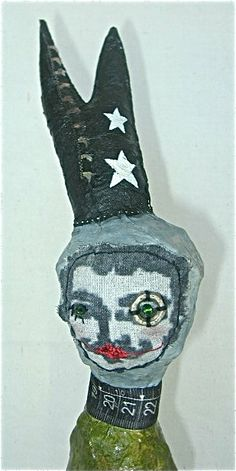 Hey, I found this really awesome Etsy listing at http://www.etsy.com/listing/115835357/ooak-collectible-sculpture-fabric-paper
