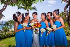 Aloha Irene!         It was so nice seeing you the other day at the bridal expo! I just want to thank you again for all of your help during my wedding! I LOVED the dresses and the color and received so many compliments on them.    Here are some pictures for you. Enjoy!         Mahalo!         Teresa Higa (09-10-11)