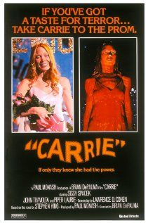Carrie: I remember walking to the theatre to see this and was scared to death walking home. 1976