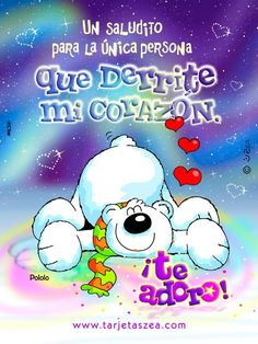 Amor Spanish Greetings, Peace And Love, My Love, Quotes En Espanol, Cute Messages, Love Phrases, Some Quotes, Good Morning Quotes, Cute Pictures