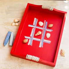 Fourth of July Decorations: Game Tray
