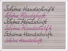 Schöne Handschrift- So verbessern Sie Ihr Schriftbild