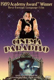"Cinema Paradiso: an amazing foreign film. Even if you hate reading subtitles, the ending is worth the wait. Such a beautiful ""guy"" film. See Movie, Movie List, Film Movie, Beau Film, Great Films, Good Movies, Jacques Perrin, Movies Worth Watching, Film Director"