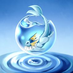 My gorgeous Vaporeon, Bubbles, is a tank.  Ton of HP on this guy.  Also, just plain cute.