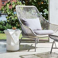 Huron Large Lounge Chair + Cushion #westelm