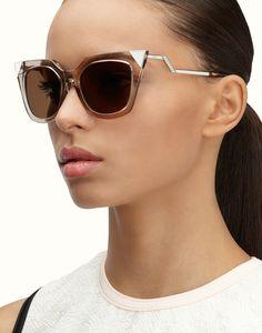 FENDI | IRIDIA Square-shaped sunglasses
