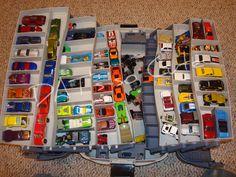 Tackle box car storage