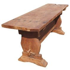 Round Mesquite Table by The Rustic Gallery of San Antonio