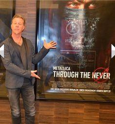 Jamz Hetfield presents his film