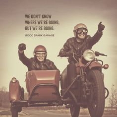 Wilkinson Brothers in their Ural Sidecar Motorcycle Red October.