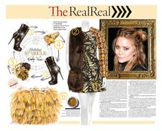 """""""Shine bright with The RealReal"""" by madlenbellucci ❤ liked on Polyvore featuring Gianmarco Lorenzi, Judith Ripka, Murphy, Bobbi Brown Cosmetics, McQ by Alexander McQueen, Gryphon, Rochas, Lime Crime, Michele Lerner and the"""