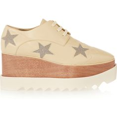 f0dd707d4561d Stella McCartney platform oxfords and vegan shoes.