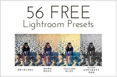 56 FREE Lightroom Presets from Bitt'n - A whole set for FREE! This will be all the Lightroom Presets I need! Find these and hundreds more Photography Freebie Listings at Flourish! Photography Lessons, Photoshop Photography, Photography Tutorials, Photography Photos, Digital Photography, Night Photography, Lightroom Tutorial, Photoshop Tips, Photoshop Lessons