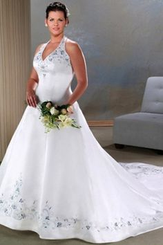 Would this look good with a daisy bouquet  I really love this dress  ifElegant Plus Size Wedding Dresses   Other  Beautiful and Embroidery. Milly Wedding Dresses. Home Design Ideas