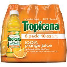 Tropicana Orange Juice, 10 oz
