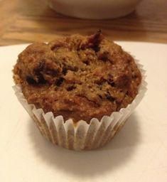 Muffins aux dattes, carottes et raisins